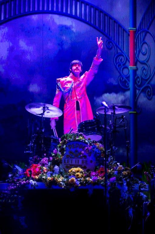 """Ringo"" on the drums - Let It Be. Photo@ Paul Coltas"