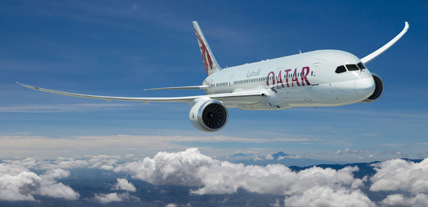 Qatar Airlines. Very nice!
