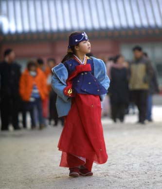 Hanbok - Korean traditional clothing