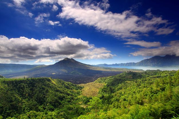 Mount Batur in Bali. Wow!