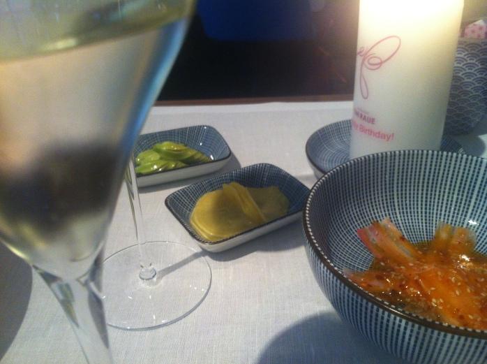 Asian-inspired cuisine at Tim Raue's 2-star Michelin restaurant, Berlin.