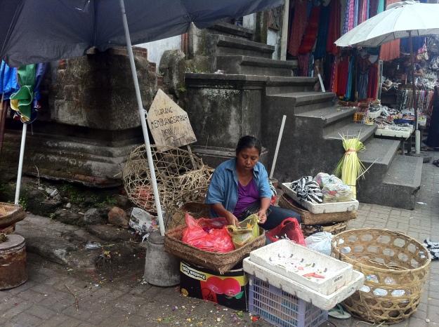 Local people in Bali.