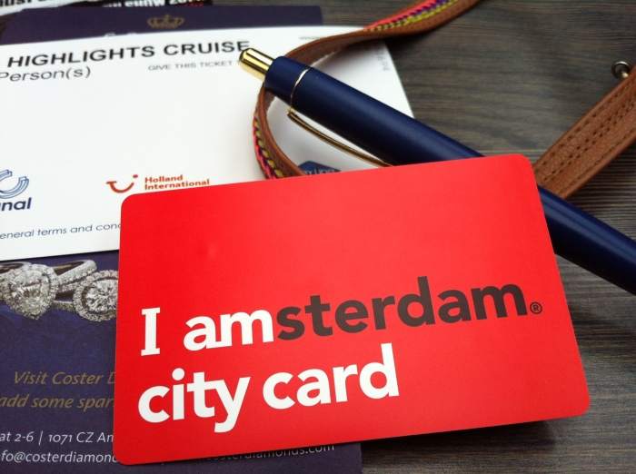 I amsterdam city card.