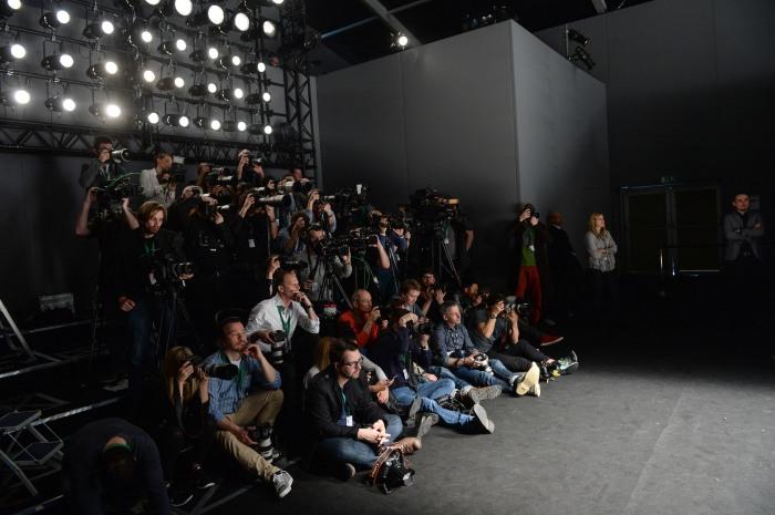 Mercedes-Benz Fashion Week Berlin Autumn/Winter 2015, Berlin am 21.01.2015