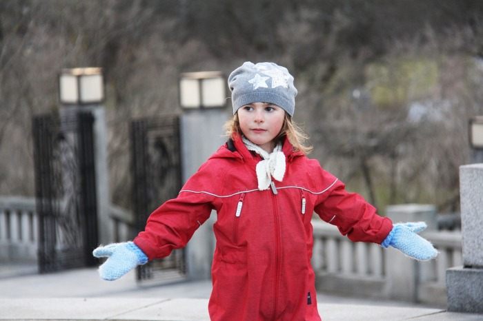 A young Danish girl in Denmark!