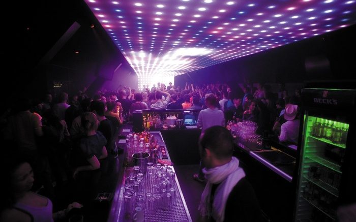 Watergate dance floor - Berlin Fashion Week.