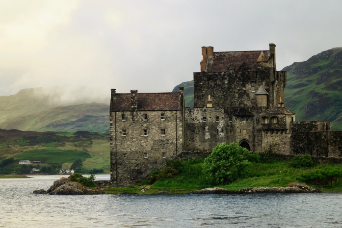 You can take our land, but you'll never take our castles. In Scotland!