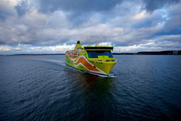 Sailing away! Photo @AS Tallink Grupp