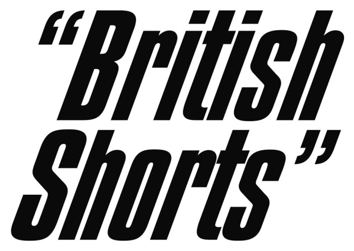 British Shorts Film Festival Logo.