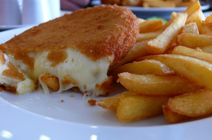 Smažený sýr or Czech fried cheese!