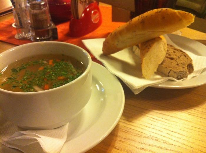 Czech vegetable soup.