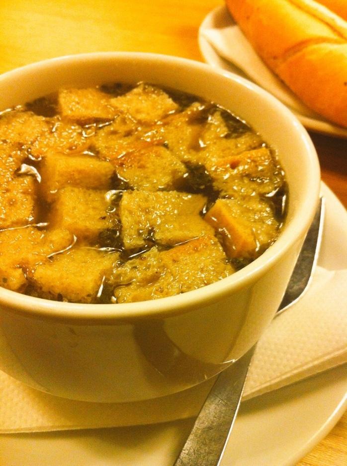 Czech Onion Soup.