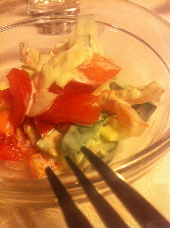 Czech Mixed Vegetable Salad.