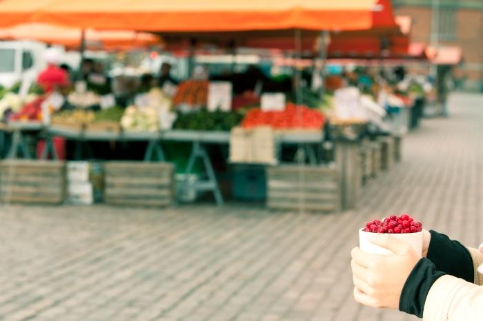 Helsinki Hakaniemi Market @Elina Sirparanta
