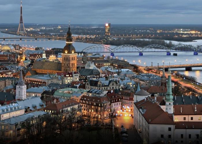 Lovely Riga in Latvia.