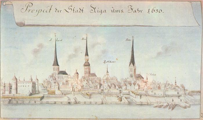 Riga 1650.