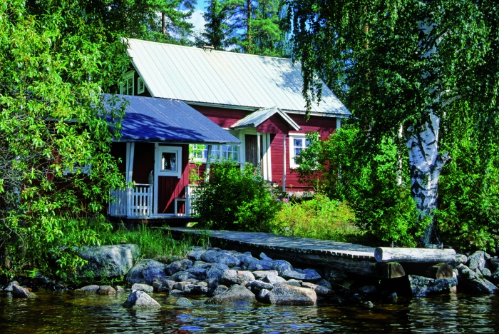 A summer cottage in Finland
