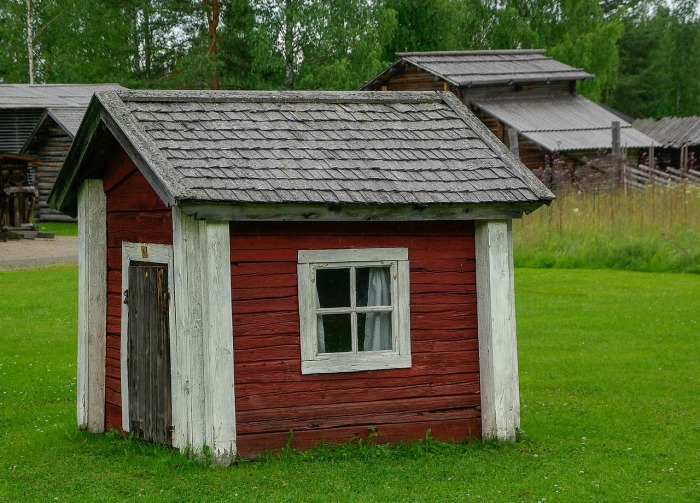 A house in Helsinki, Finland. Not in Berlin!