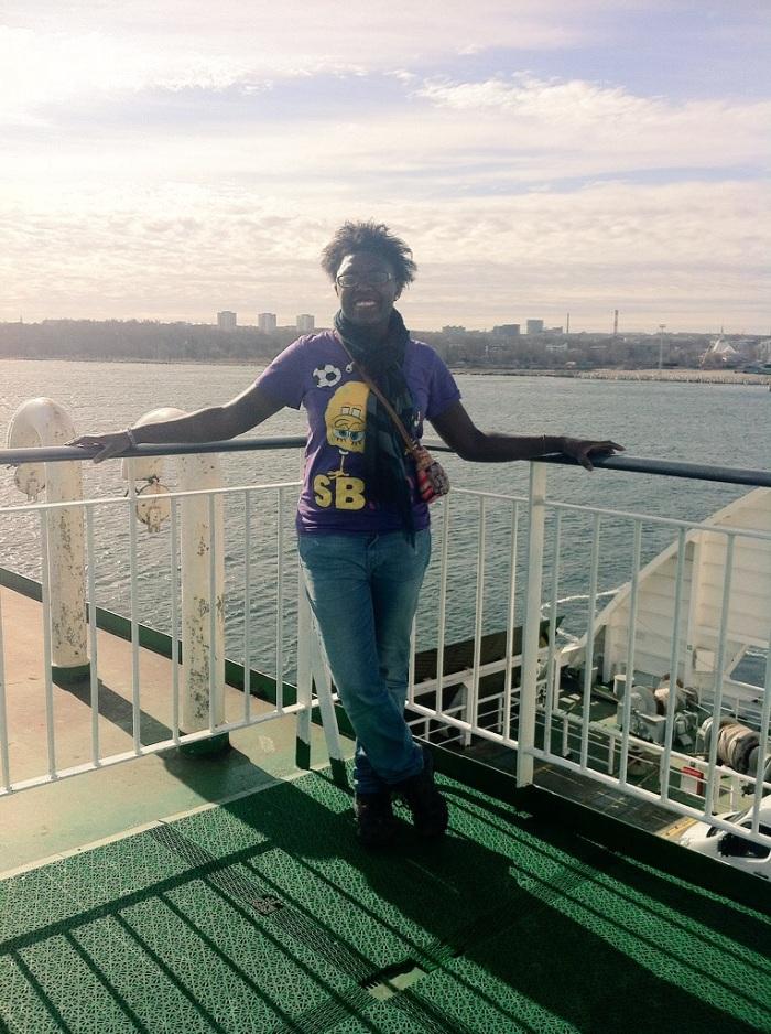 Myself on the M/S Star Tallink mini cruise from Tallinn to Helsinki.