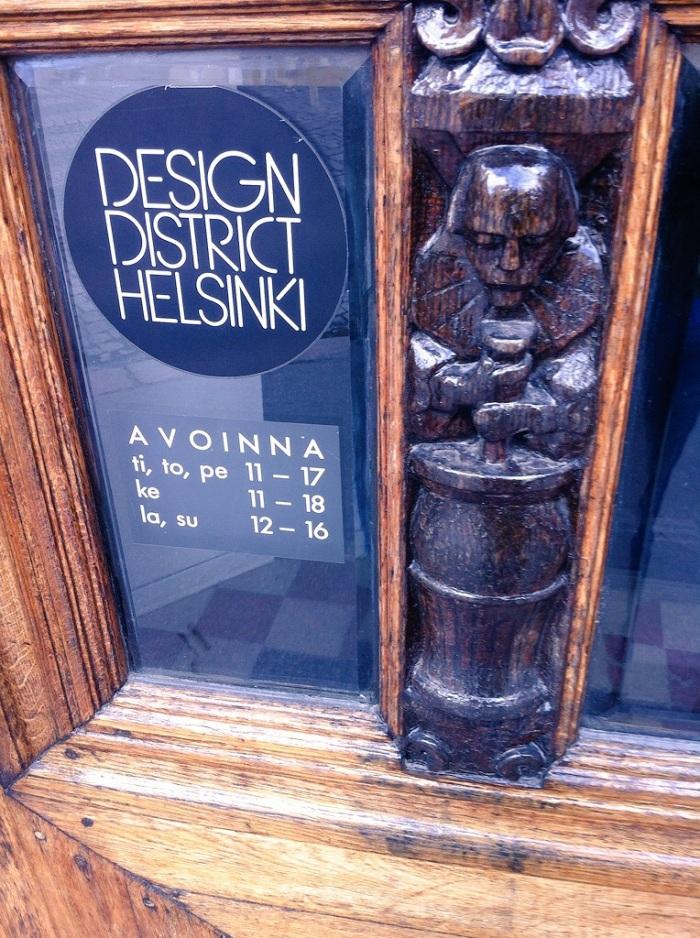Design District Helsinki, Finland.
