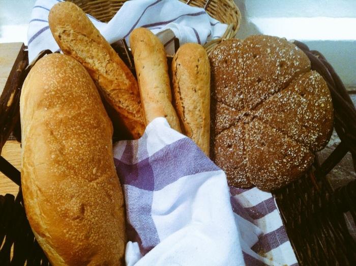 Ruisleipä – rye bread – made from sour dough in Helsinki, Finland.