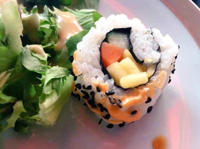 Sushi in helsinki, Finland.