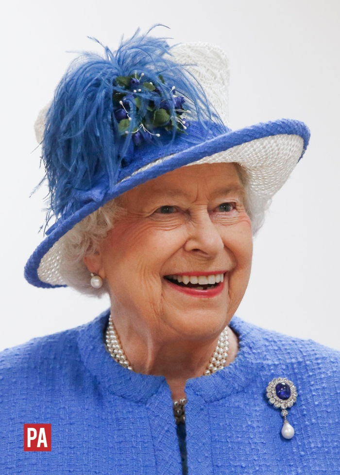 The Queen! ©PRESS ASSOCIATION / Danny Lawson.