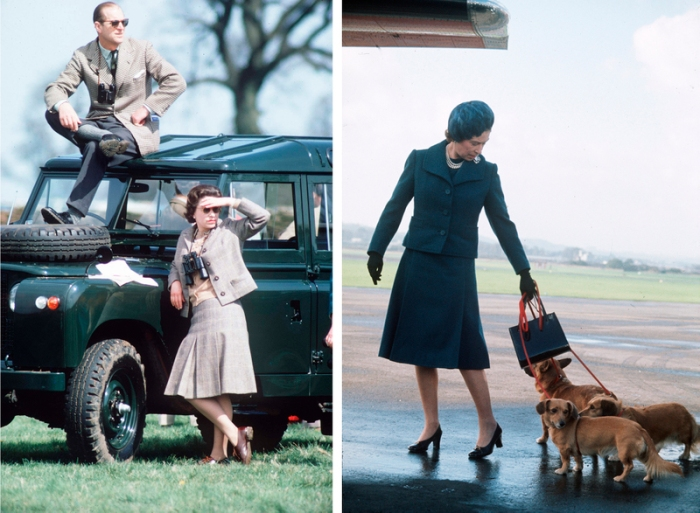 Queen Elizabeth II and the Duke of Edinburgh in their younger days - GB / UK.
