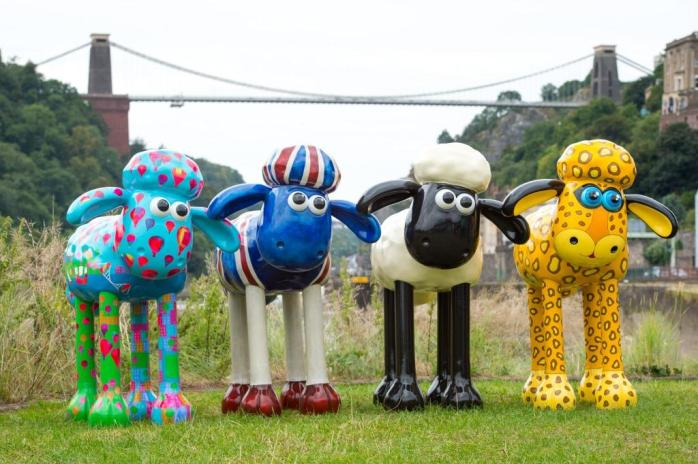 I thought I would put Shaun the Sheep in for light relief - He's British too!