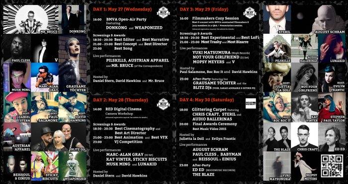 BMVA2015 The programme.