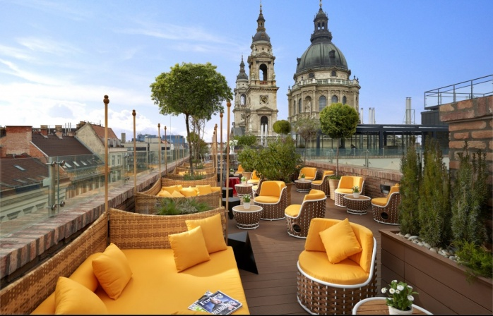 Next to the St. Stephen's Basilica - Aria Hotel Budapest.