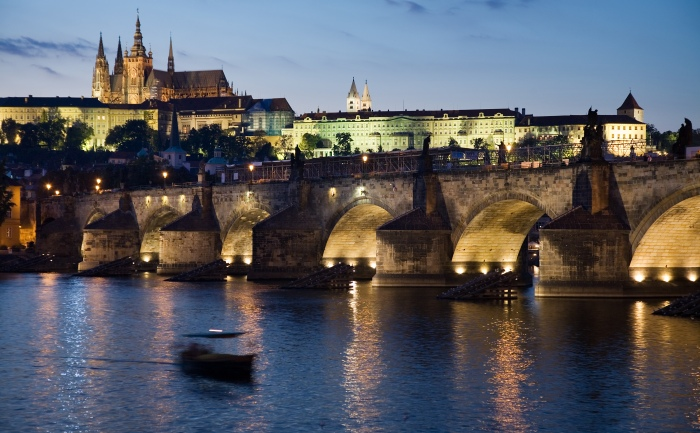 St Charles Bridge Prague © Jorge Royan