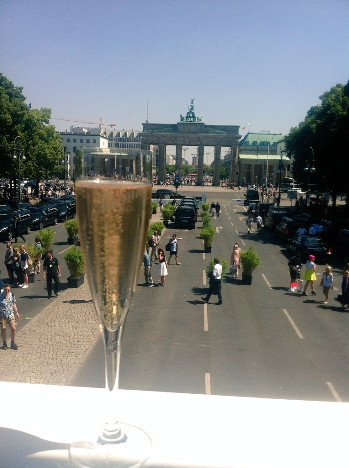 Berlin's most iconic Brandenburg Gate - Let the good times roll!