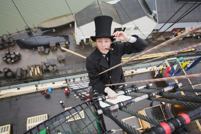 @Brunels ss Great Britain in Bristol.
