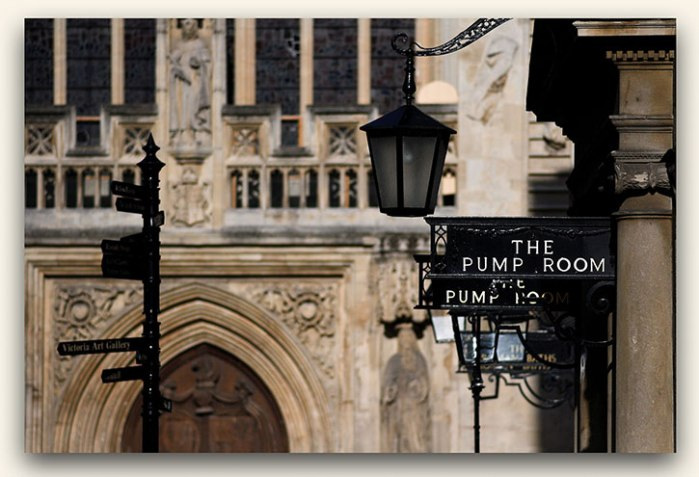 The Pump Room in Bath.