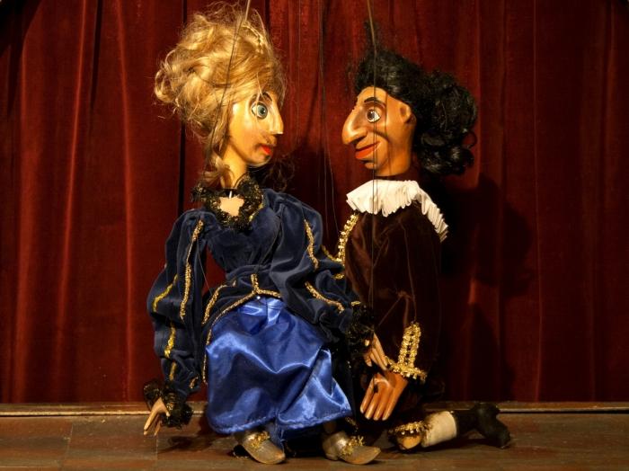 Don Giovanni marionette opera in Prague.