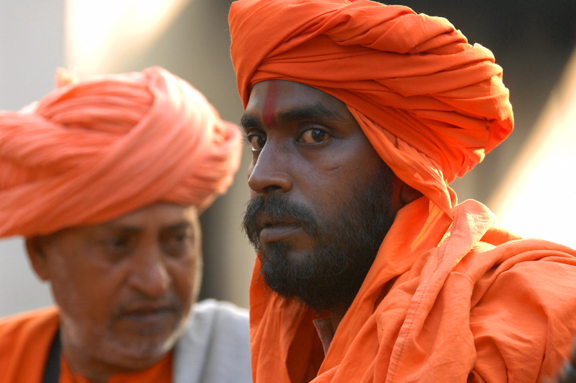 Local Indian men, India.