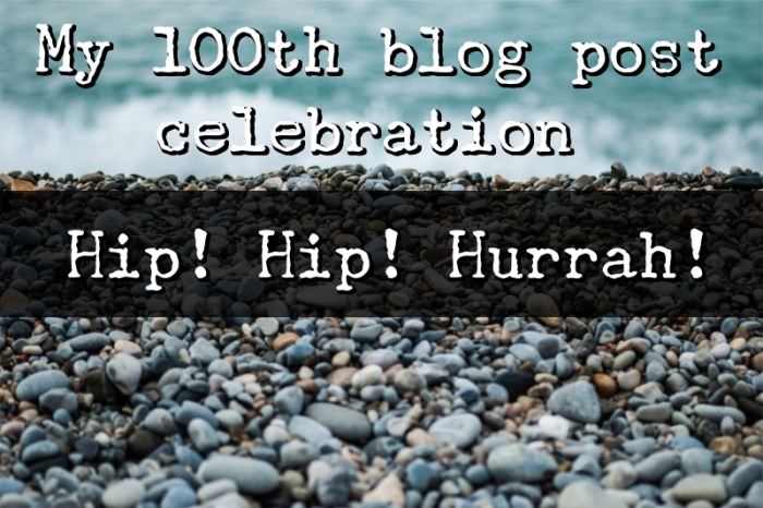 My 100th blog post celebration!