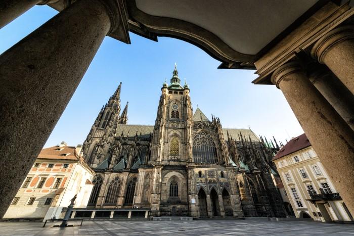 St. Vitus Cathedral in Prague. © Petr Salek