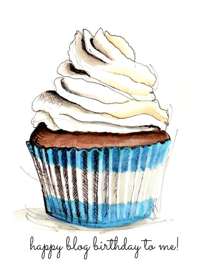 Happy Blog Birthday to me!