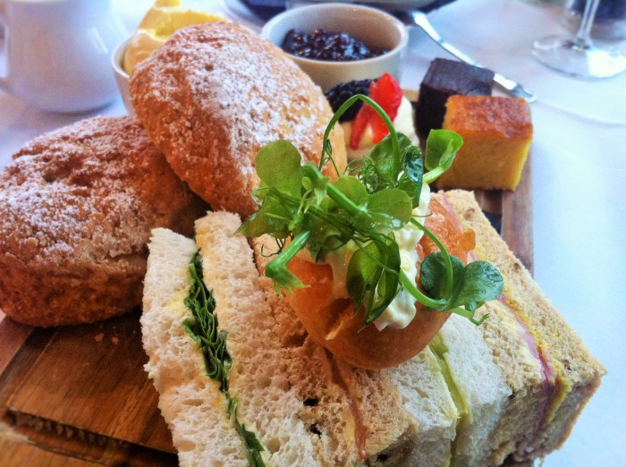 Afternoon Tea at the Avon Gorge Hotel, Bristol.