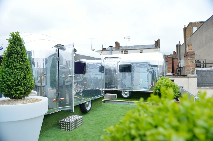 Brooks Guesthouse Airstream Caravans. Glamping in Bristol!