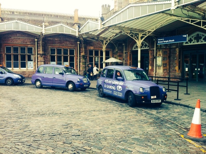 It was lovely having a Bristol cab and driver waiting for me!