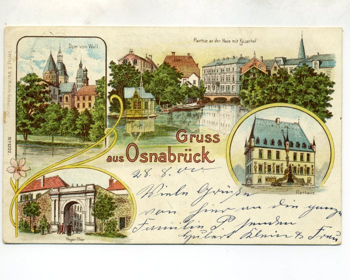 Greetings from Osnabrück in Germany!