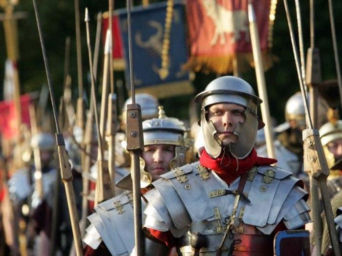 Roman cohorts at the Varus Battle in Osnabrück. © Tourismusverband Osnabrücker Land e.V.