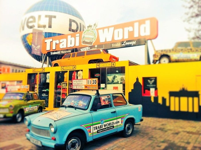 Trabi World with a Trabi-Safari, in Berlin.