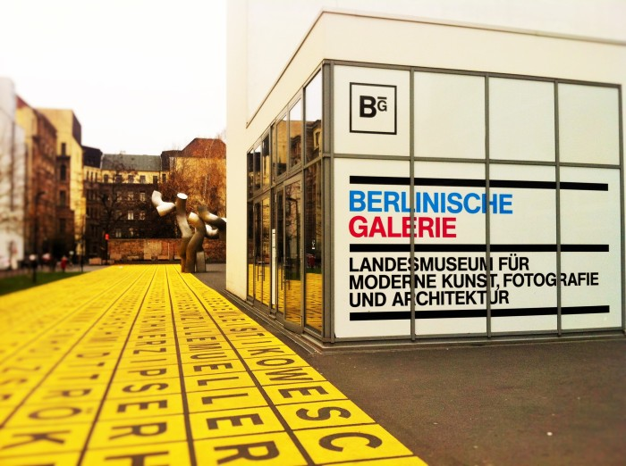 The Berlinische Galerie - Museum of modern art, photography and architecture, Berlin!