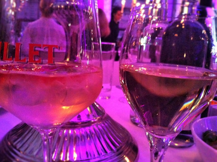 Drinks at the private dinner hosted by SHOW&ORDER and Ten117 at Berlin Fashion Week.
