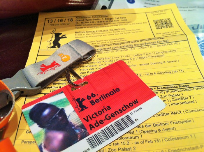 Myself at the Berlinale.