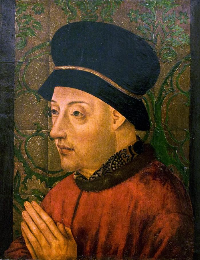 Portrait of King John I of Portugal (1357-1433).
